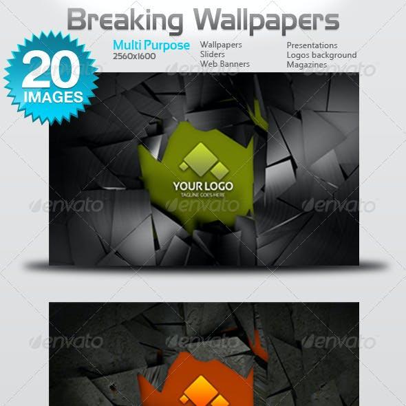 Breaking Wallpapers