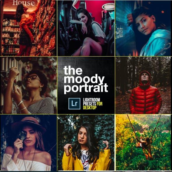 20 Moody Portrait Kit Lightroom Presets