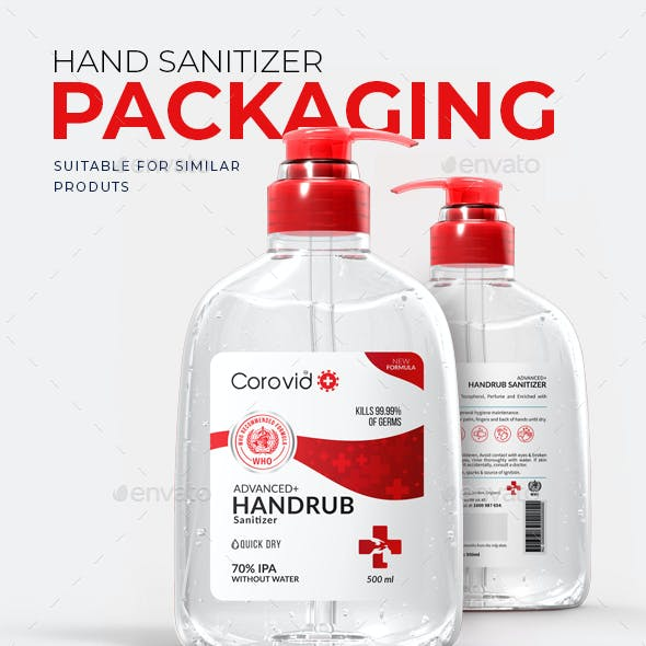 Hand Sanitizer Packaging #2