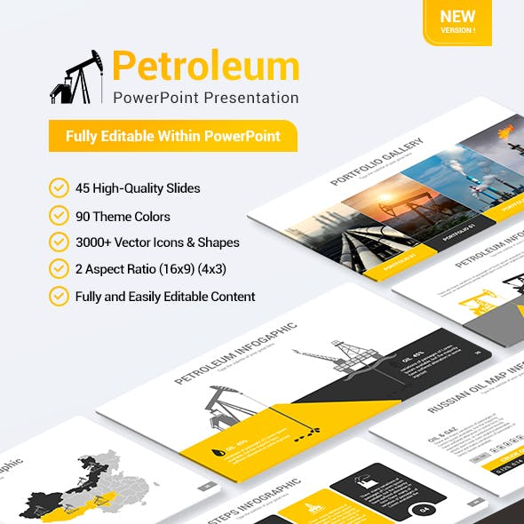 Petroleum Powerpoint Presentation Template