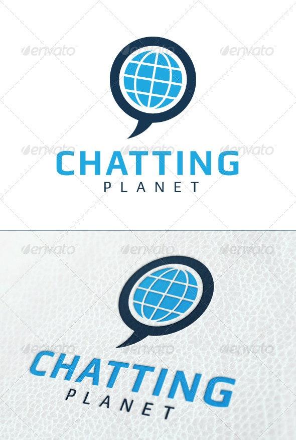 Chatting Planet - Symbols Logo Templates