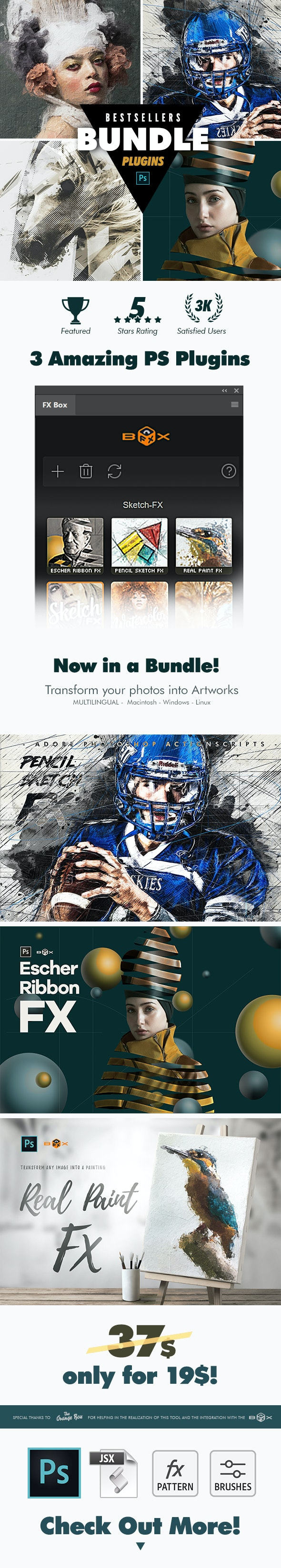 New BestSellers Plugins Bundle - Photo Effects Actions