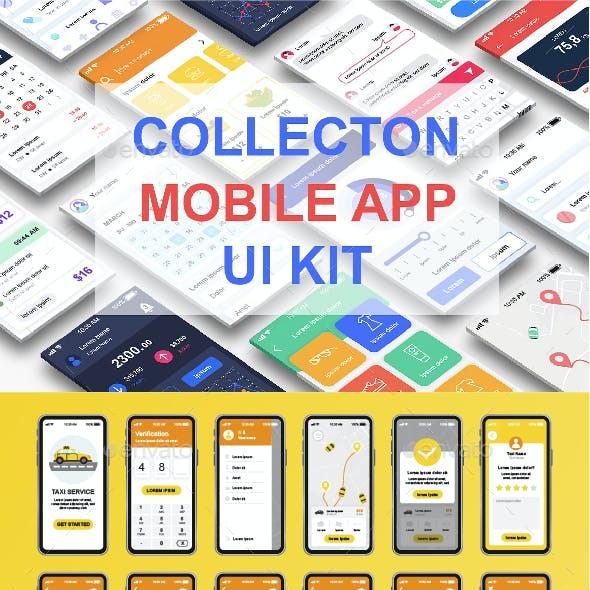 Unique Mobile App UI Kit