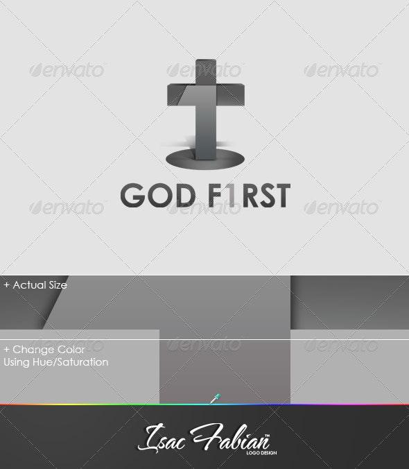 God First Logo Template - Symbols Logo Templates