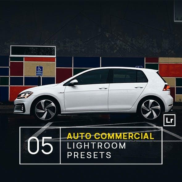 5 Auto Commercial Lightroom Presets