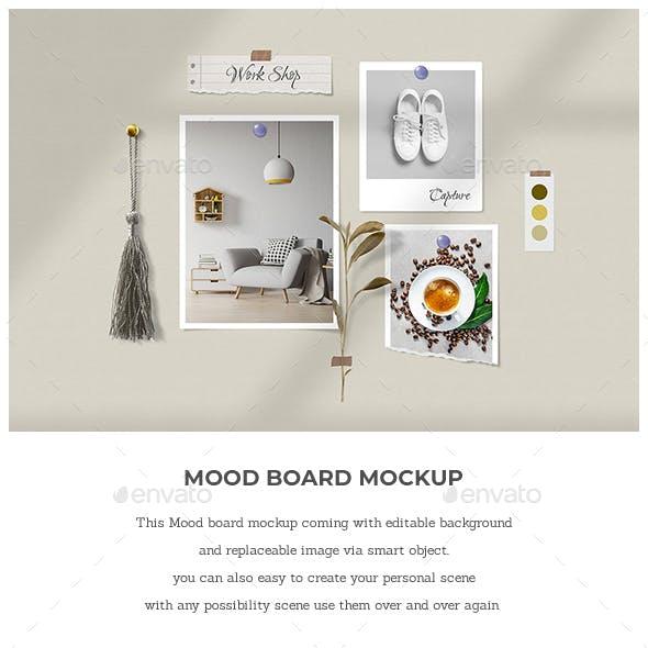 Mood Board Mock Up