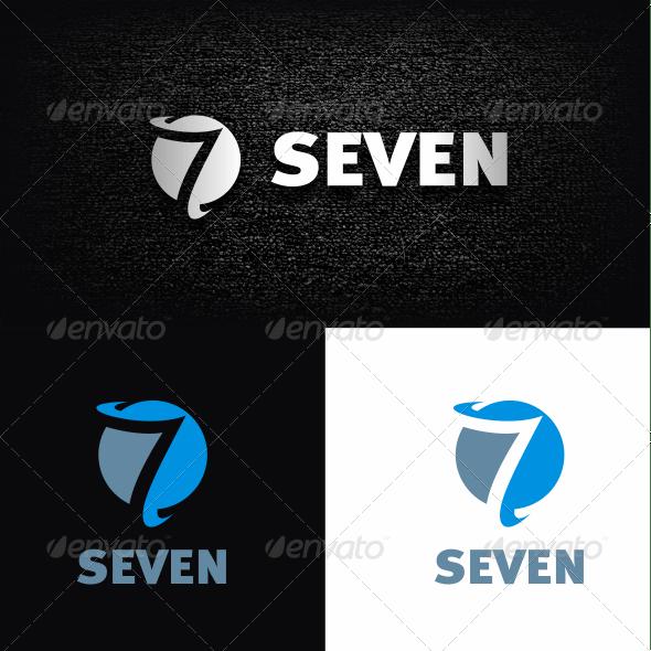 Number 7 Logo