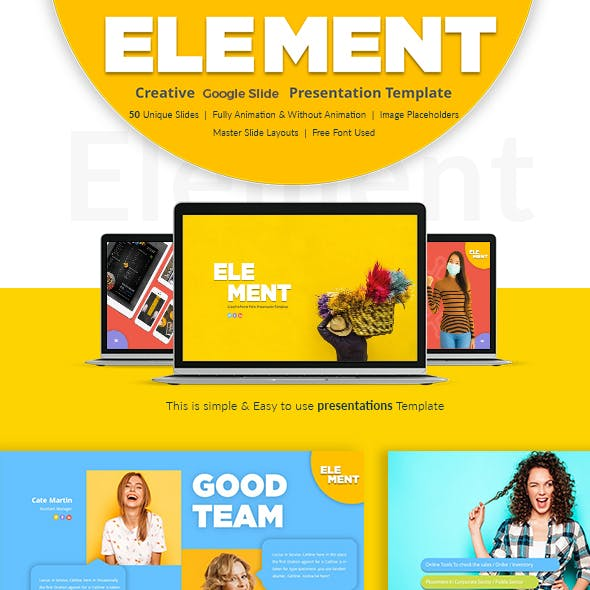 Element Google Slide Presentation Template