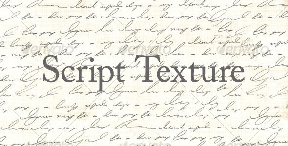 Script Texture - Abstract Textures
