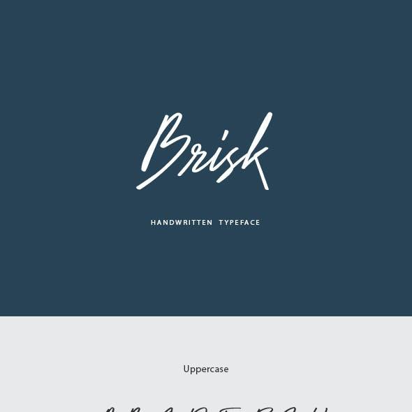 Brisk Handwritten Font