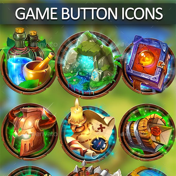 Game Button Icons