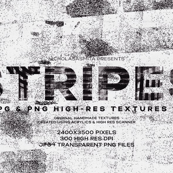 Stripes: 19 Transparent PNG Textures