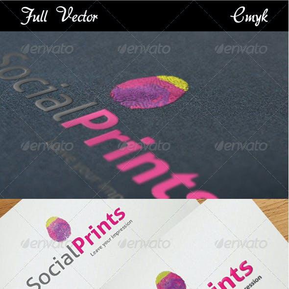 Social Prints Logo