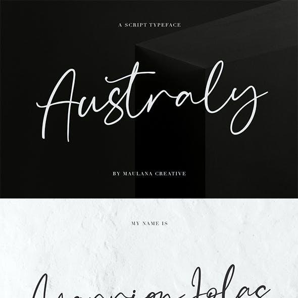 Australy Font