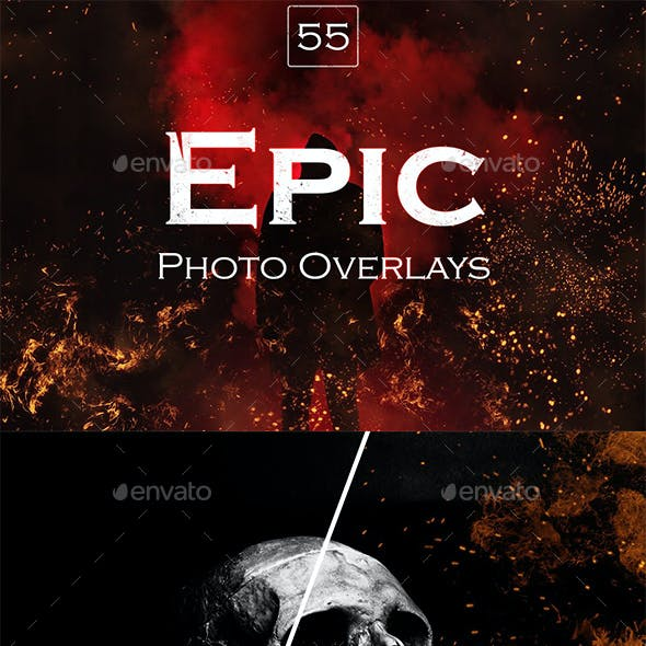 55 Epic Photo Overlays