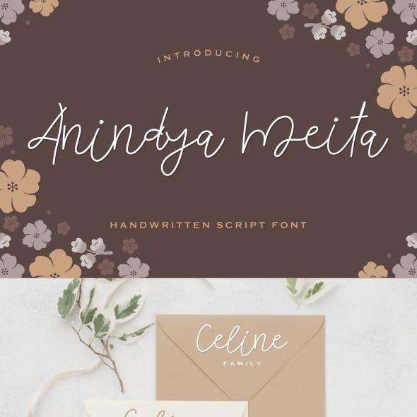 Anindya Meita Font