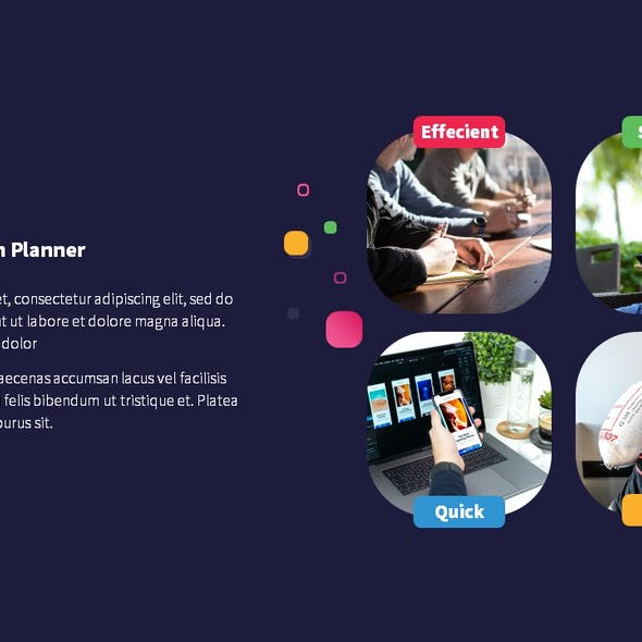Planner Marketing Keynote Presentation Template Fully Animated