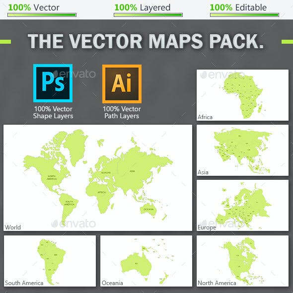 The Vector Maps Pack