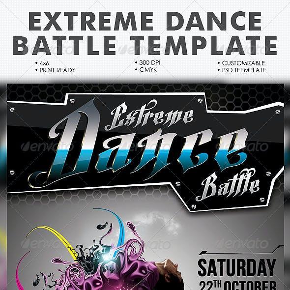 Extreme Dance Battle Template