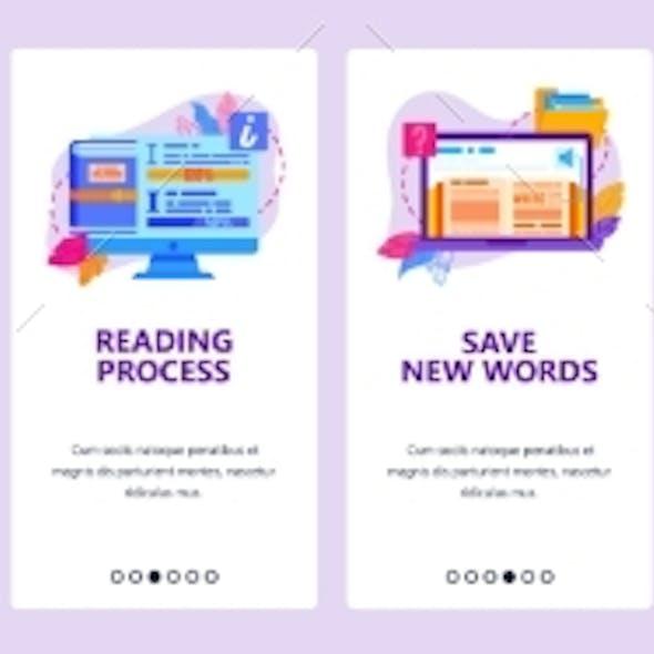 Digital Electronic Book Library Study Language