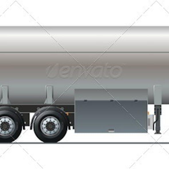 Tankercar side view