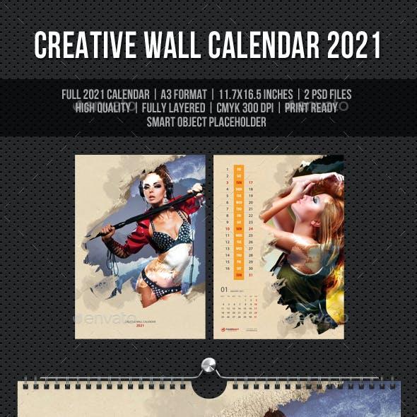 Creative Wall Calendar 2021 V13