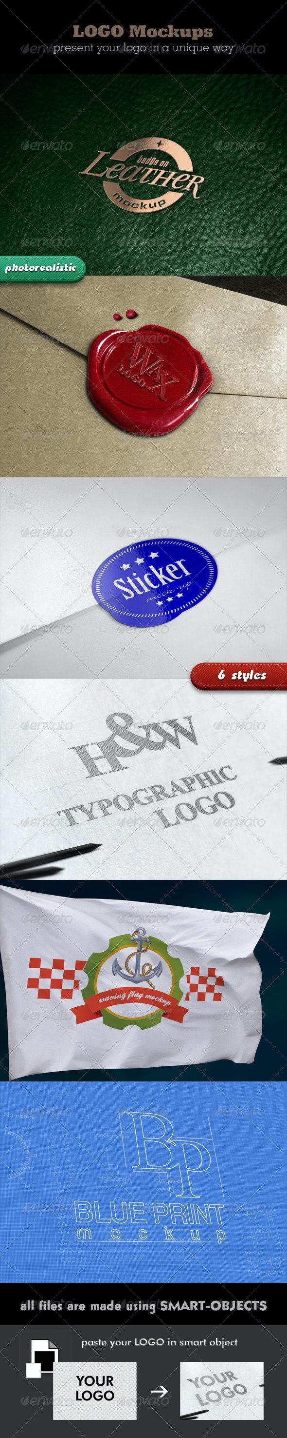 Photorealistic Logo Mockups - Logo Product Mock-Ups