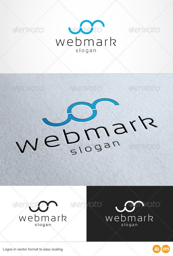 Web Media Logo - Letters Logo Templates