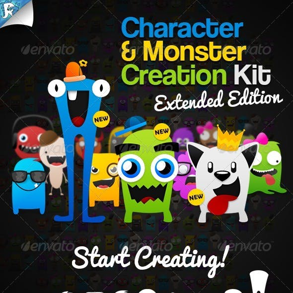 Character & Monster Creation Kit – Create us