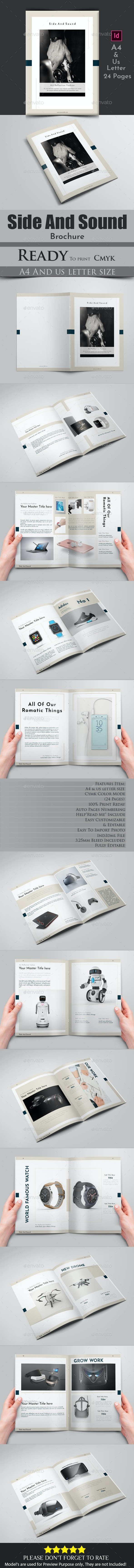 Side And Sound Brochure - Brochures Print Templates