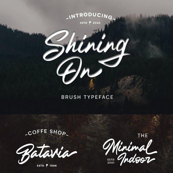 Shining On - Logo Type