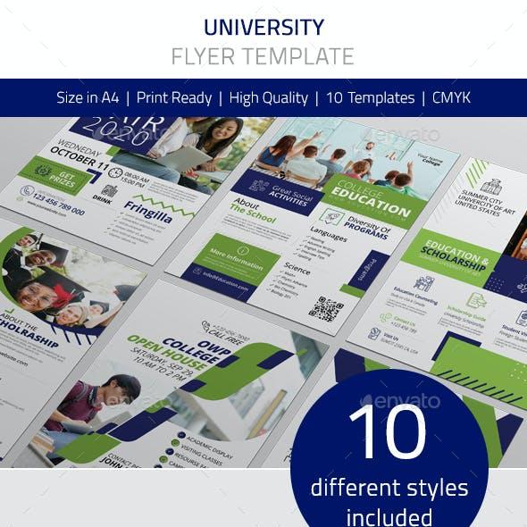 University Flyer Vol.1