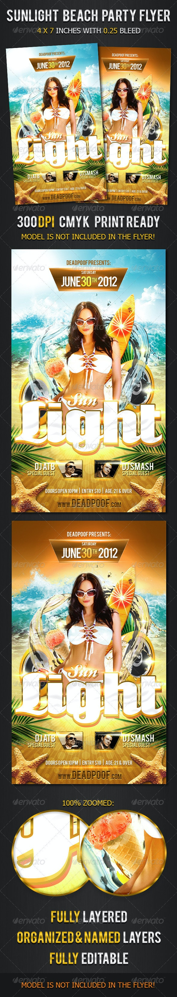 Sunlight Beach Party - Clubs & Parties Events