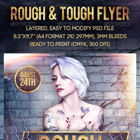 Rough & Tough Flyer