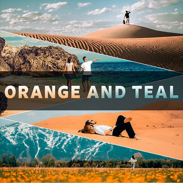 Orange And Teal 10 Preset Pack