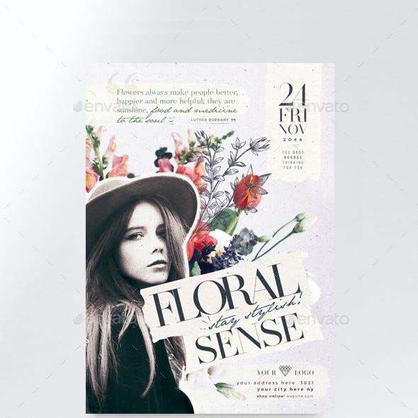 Floral Sense Flyer Template