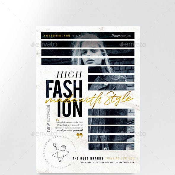 High Fashion Flyer Template