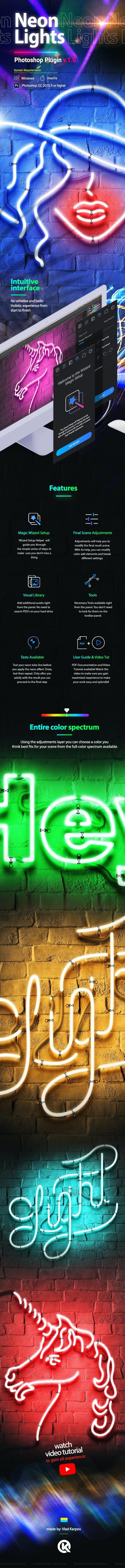 Neon Lights - Utilities Actions