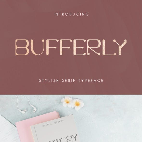 Bufferly Font