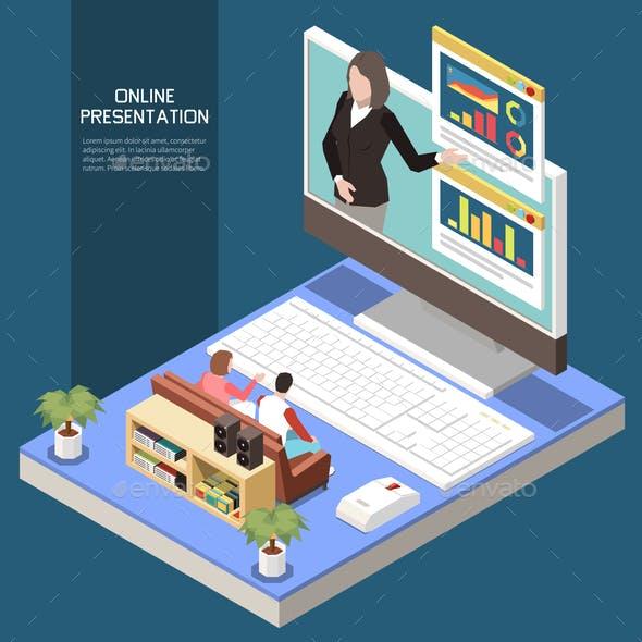 Online Presentation Concept