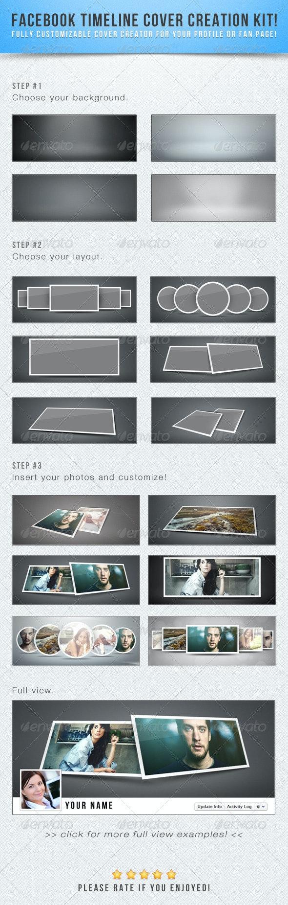 Facebook Timeline Cover Creation Kit