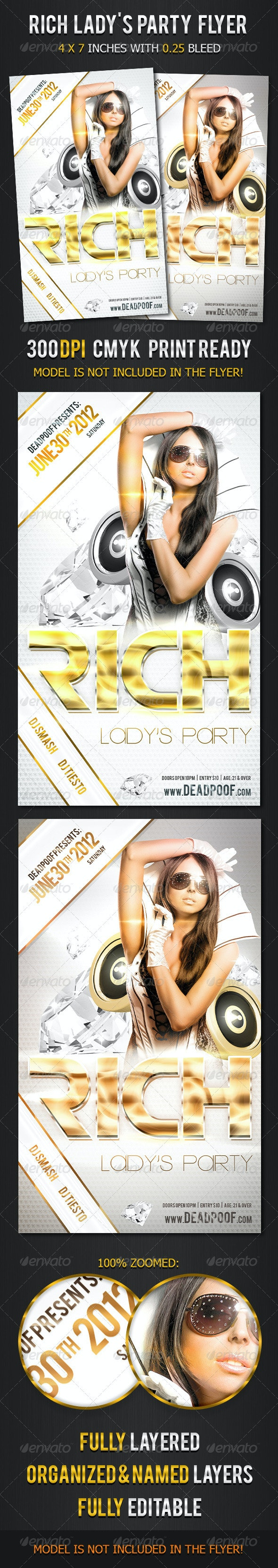 Rich Lady's Party - Clubs & Parties Events