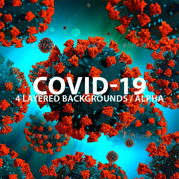 Covid-19 Layered Background Set