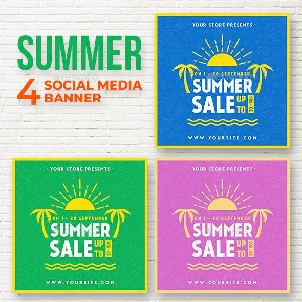 Summer Sale - Social Media banner
