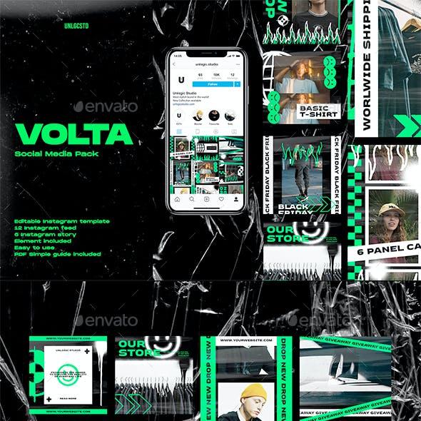 Volta Instagram Social Media Pack