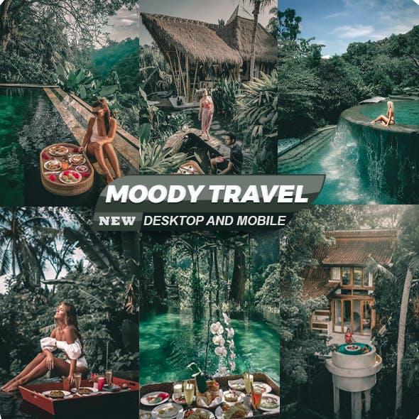 Moody Travel Presets For Mobile and Desktop Lightroom