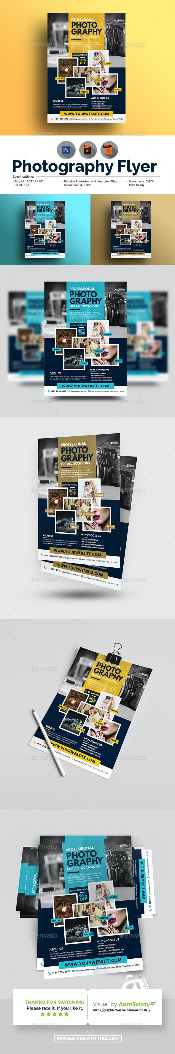 Photography Flyer - Corporate Flyers