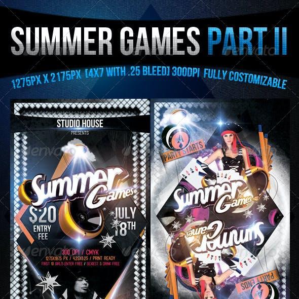 Summer Games Part 2