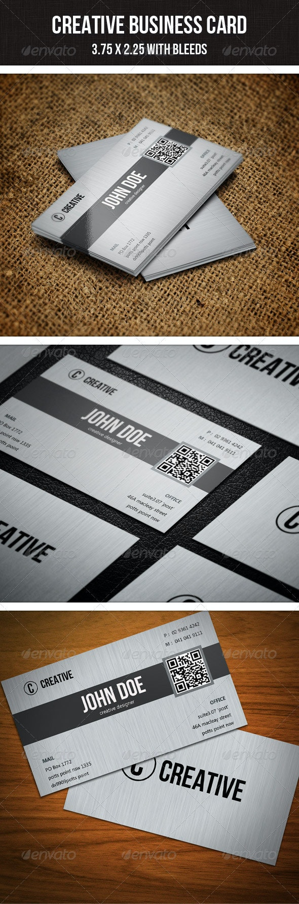 Creative Business Card - 22 - Corporate Business Cards