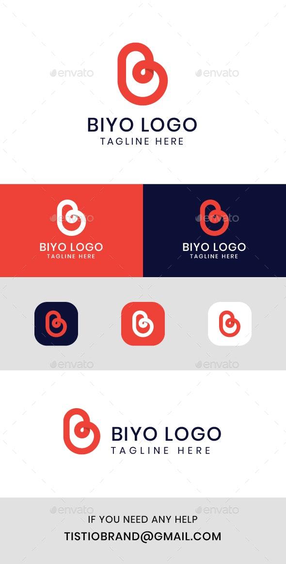 Biyo B Letter Logo - Letters Logo Templates